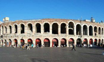 Verona, wo Romeo und Julia sich ein Stelldichein gaben