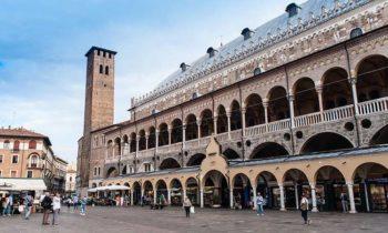 Padua mit der ältesten Universität der Welt